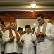 Berkas Pasangan Anies-Sandiaga Dinyatakan Lengkap oleh KPUD DKI