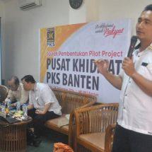 PKS Banten Luncurkan Program Pusat  Khidmat PKS