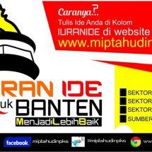 Momentum HUT Banten Ke 16 Tahun, PKS Buka Ide Masyarakat