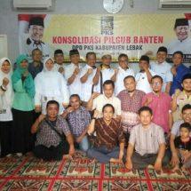 Pastikan Kemenangan WH- Andika,  DPW  PKS Sambangi DPD Se-Banten