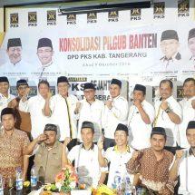 PKS Banten Konsolidasi dengan  Kabupaten Tangerang