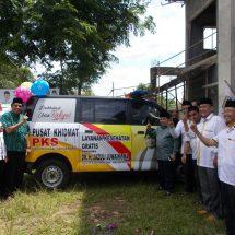 PKS Kabupaten Tangerang Launching Pusat Khidmat