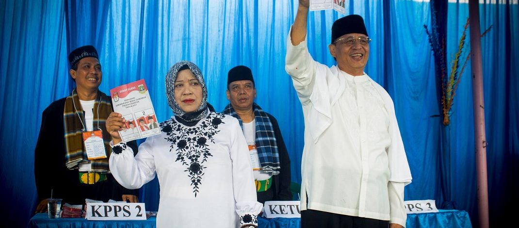 Pencoblosan Ulang  Suara Wahidin-Andika Justru Bertambah.