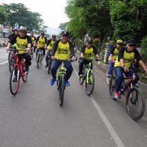 Presiden PKS Ajak Masyarakat  Rutin Berolah Raga Sepeda