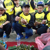 Presiden Gowes Setengah Jam, Icip-Icip Makanan Khas Serang