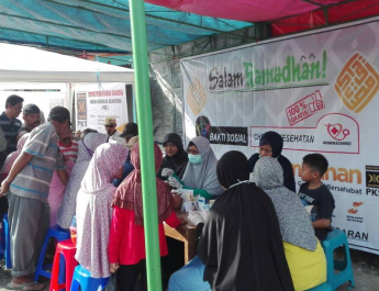 Jelang Ramadhan, PKS Tengaran Khidmat dengan Bakti Sosial dan Cek Kesehatan Gratis