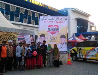 Posko Mudik PKS Banten Buka 24 Jam