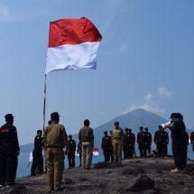 Rayakan Kemerdekaan di Gunung Krakatau, Bikin PKS Banten Berkesan