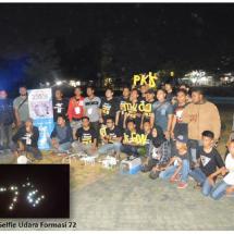 PKS Muda Cilegon Lakukan Selfie Udara Formasi 72 Bersama Lintas Komunitas