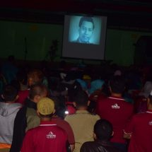 PKS Banten & Koramil Nobar Film G30S PKI di Sawarna