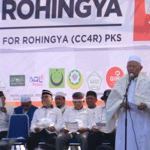 Ulama Betawi Pimpin Doa Untuk Rohingya
