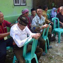 Baksos PKS : Dari Totok Punggung Hingga Pengobatan Gratis Disukai Warga Sawarna