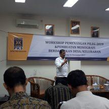 Hadapi Pemilu 2019, Caleg PKS Banten dilatih Monografi Politik