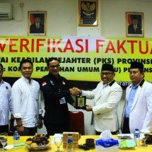 KPUD Apresiasi Pengurus Perempuan PKS Banten  Melebihi Quota 30 Persen