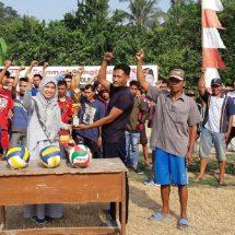 Turnamen Tuti Elfita Cup Disambut Meriah Warga Desa Koper