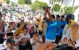 Presiden PKS dan Bang Sandi Sapa Emak-emak Tangsel