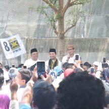 Patuhi Larangan KPU, Sandiaga  Hanya Kampanye  Di Depan Gerbang Pesantren