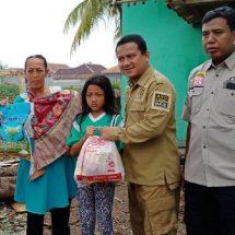 PKS Banten Berikan Bantuan Korban  Puting Beliung di Tangerang