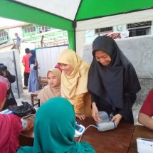 Pasca Bencana, Perempuan PKS Gelar Baksos Kesehatan di Mauk