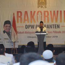 Di Rakorwil, PKS Banten Membuka Ruang Kolasi Pilkada 2020