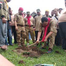 Kembara PKS Banten Ditutup Dengan Penanaman 5000 Pohon
