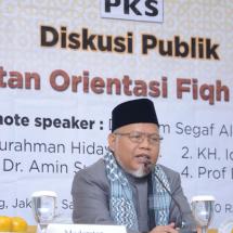 PKS Gelar Diskusi Publik tentang Kemoderatan Partai Dakwah