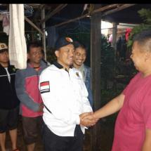 Dini Hari, Ketua DPW PKS Banten Masih Pantau Lokasi Banjir