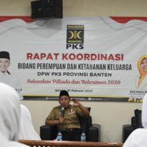 PKS Banten Siapkan Kader Perempuan Potensial di  Pilkada 2020