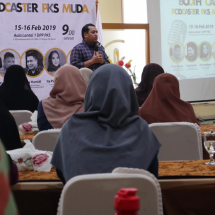 Jaring Podcaster Andal, PKS Muda Gelar Booth Camp Podcaster