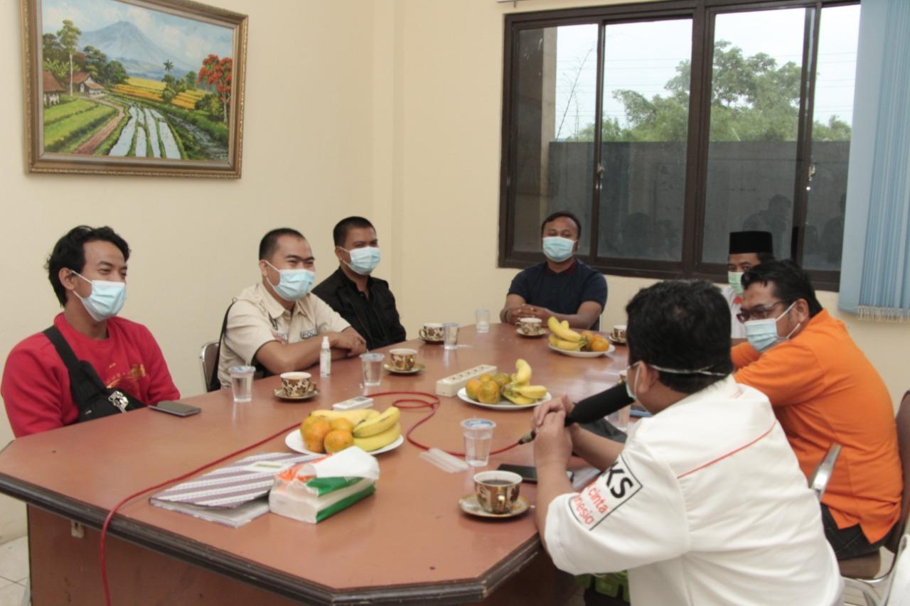 Polresta Sambangi Kantor DPD PKS Kab Tan